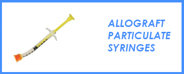 Allograft Particulate Syringes