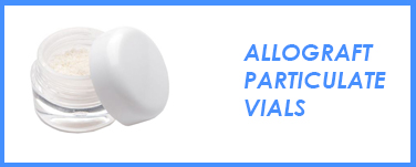 Allograft Particulate Vials