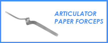 Articulator Paper Forcpes