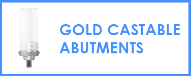 Gold Castable Abutments