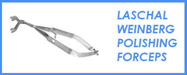 Laschal Weinberg Polishing Forceps