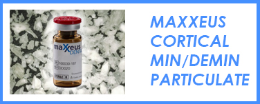 Maxxeus Cortical Mineralized/Demineralized Particulate