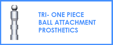 TRI One Piece - Ball Attachment Mini