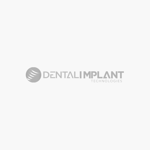 Straight Zirconia Fused Titanium Abutment for Standard Platform Internal Hex Implants