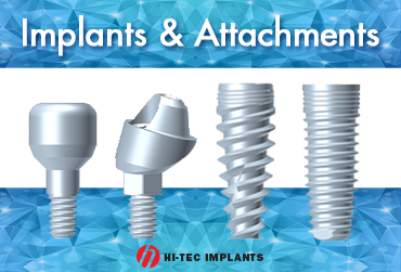 Implants & attachments