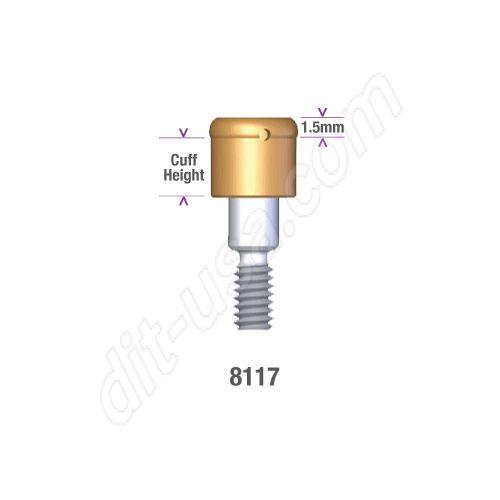 Locator Astra Micro Thread (aqua system) 3.5/4.0mm x 3mm Implant Abutment #8117 (ea)