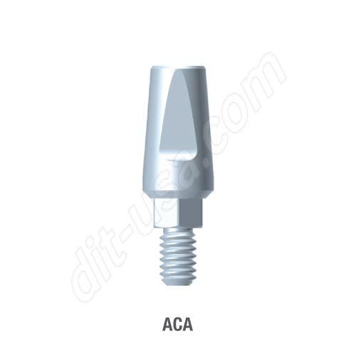 Straight Titanium Abutment for Standard Platform Internal Hex Connection