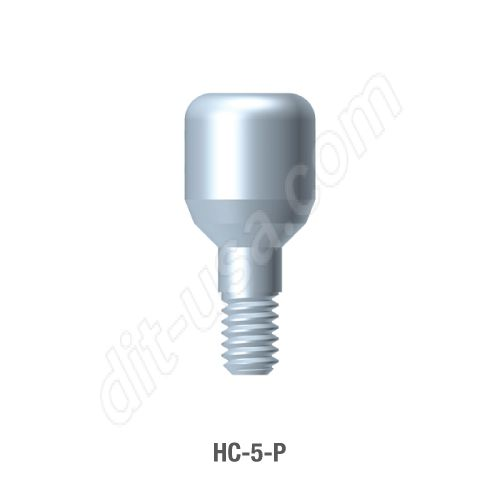 5mm Anatomical Healing Abutment for Standard Platform Internal Hex Connection