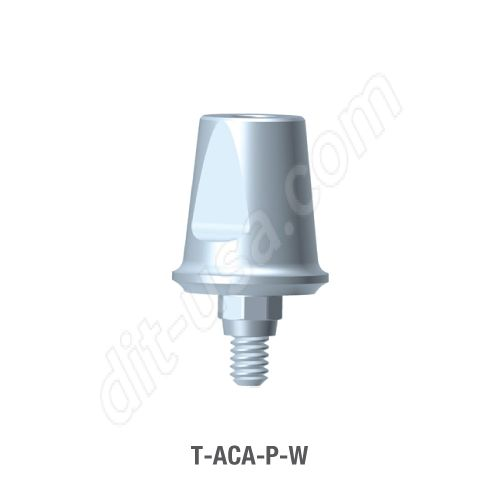 Wide Platform Wide Octa Two-Piece Abutment (T-ACA-P-W)