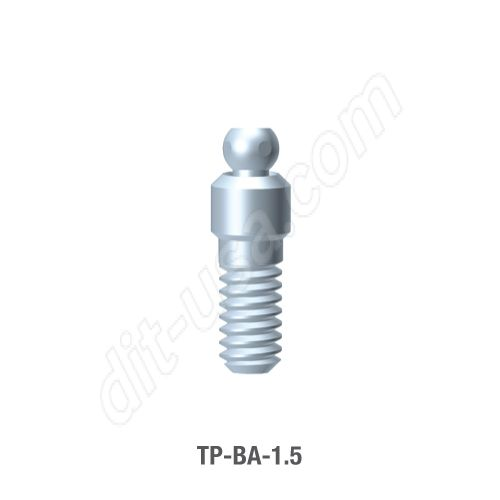 1.5mm Cuff Ball Attachment for TRX-TP Implants