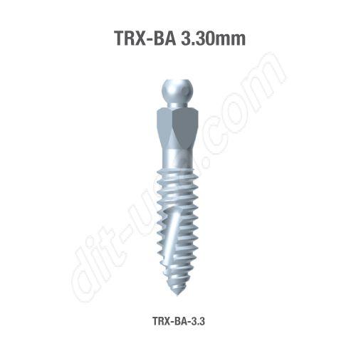 TRX-BA 3.3mm Implants (Assorted Lengths)