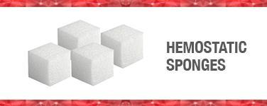 Hemostatic Sponges