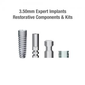 3.5mm Diameter Expert Implants, Restorative Components & Kits