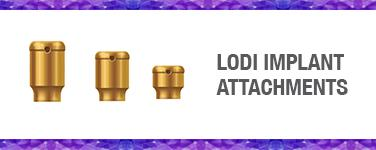 LODI Implant Attachments