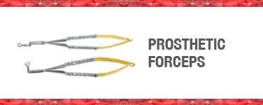 Prosthetic Forceps