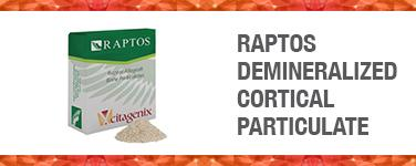 Raptos Demineralized Cortical Particulate
