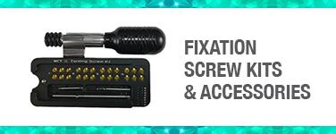 Fixation Screw Kits & Accessories